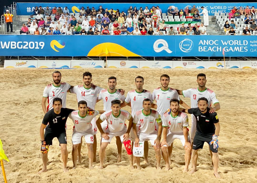 پیروزی ساحلی بازان ایران مقابل سنگال در ضیافت پنالتیها