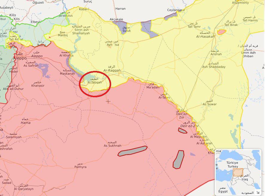 یگانهای ارتش سوریه وارد حومه الرقه شدند