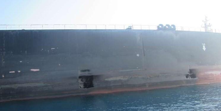 روابط عمومی//انتشار تصاویر جدید از نفتکش SABITI دریای سرخ