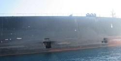 انتشار تصاویر جدید از نفتکش SABITI در دریای سرخ