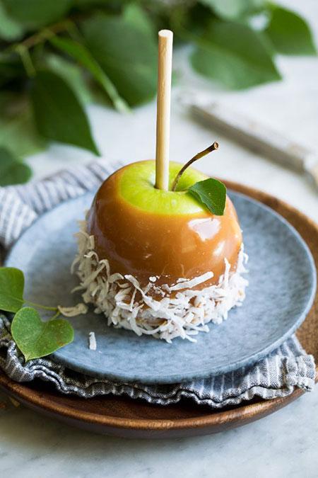 باشگاه خبرنگاران -چگونه دسر سیب کاراملی درست کنیم؟
