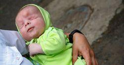 تولد نوزاد بدون چشم در روسیه! + فیلم