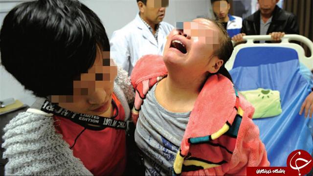 اشتباه رفتاری مادر جوان جان دختر ۸ ساله اش را گرفت + تصاویر///