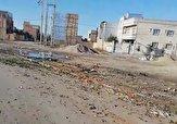 باشگاه خبرنگاران -رها کردن نظافت شهر کلاله توسط نیروهای شهرداری + فیلم