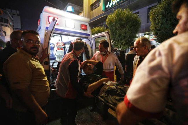 مصدومیت ۲۳ زائر ایرانی در تصادف ون و مینیبوس در ۶۰ کیلومتری نجف/