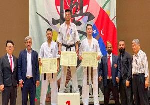 یازدهمین دوره مسابقات کاراته سراسری ژاپن/ جعفری صاحب مدال طلا شد