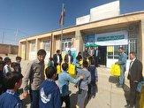 باشگاه خبرنگاران -توزیع بستههای نوشت افزار دانش آموزی در شهرستان ایجرود