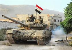 ورود ارتش سوریه به شهر منبج