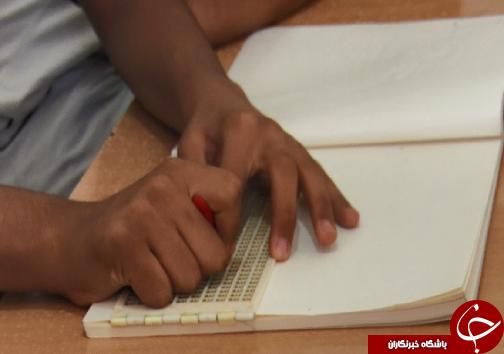 تامین ضبط صوت، پرکینز، ذره بین و وسایل جهت یابی تنها مطالبه دانش آموزان نابینا