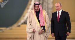 هدیه عجیب و متفاوت پوتین به پادشاه عربستان! + فیلم