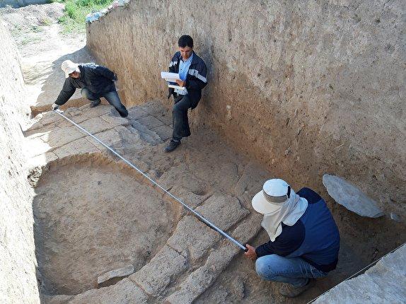 باشگاه خبرنگاران - حفاظ تپه باستانی کوشکله سقز نصب شد