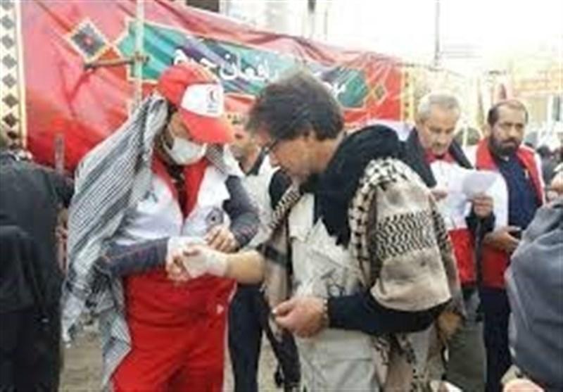 فعالیت ۷۵ تیم عملیاتی هلال احمر در همدان
