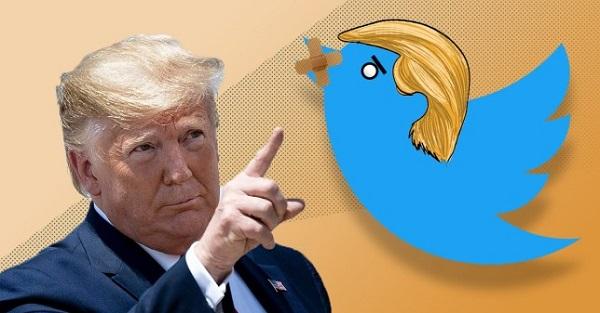 توئیتر حسابکاربری یکی از حامیان ترامپ را مسدود کرد