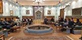 باشگاه خبرنگاران -دیدار اعضای هیات بازرگانی اهواز و مشهد با سفیر ایران در عمان