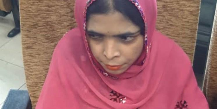 «سیما» زنی نابینا در بلوچستان