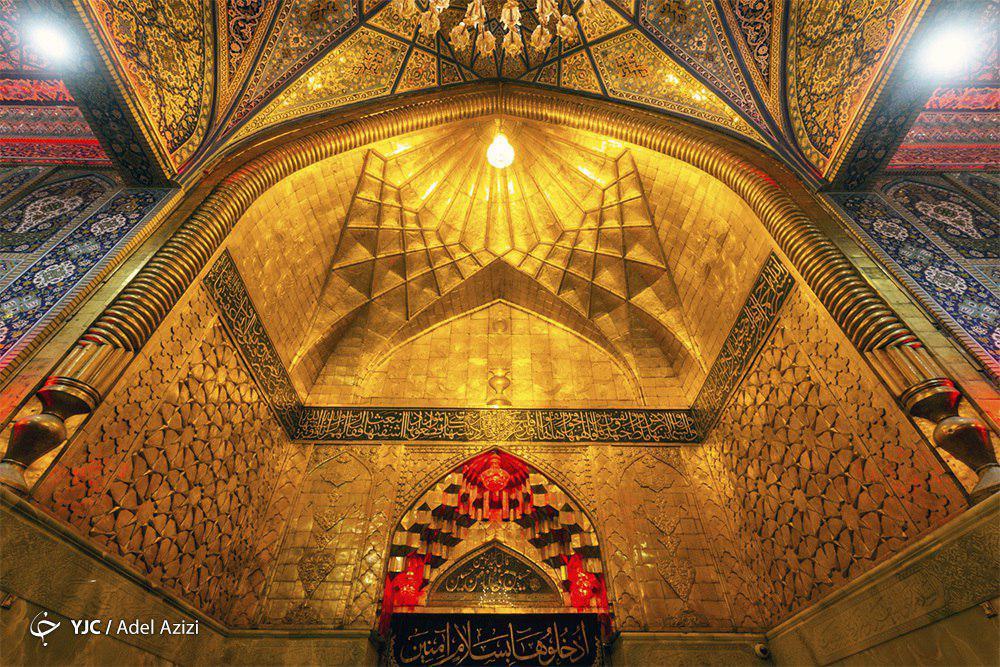 تصاویر ناب از حال و هوای حرم امام حسین(ع) در آستانه اربعین