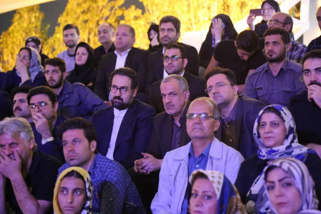 باشگاه خبرنگاران -حسینی و مسجدجامعی به تماشای «سوگ آزادگی» نشستند