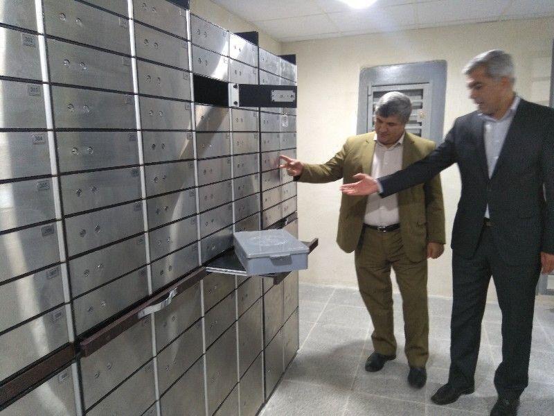 صندوق امانات بانک ملی بیجار به بهرهبرداری رسید