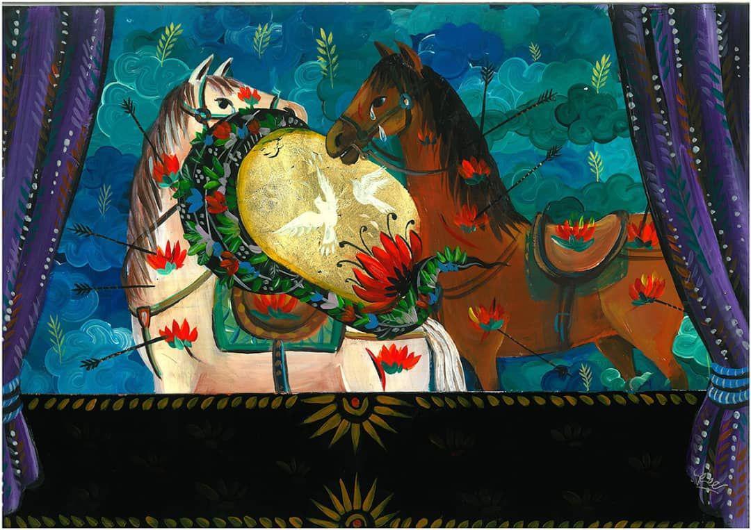 کپی کاری جایگزین نویسندگی مذهبی شده است/ برخی از هنرمندان به خودفروخته گی خود افتخار میکنند/ سبک کاری من ریشه در نقاشی قهوه خانهای دارد