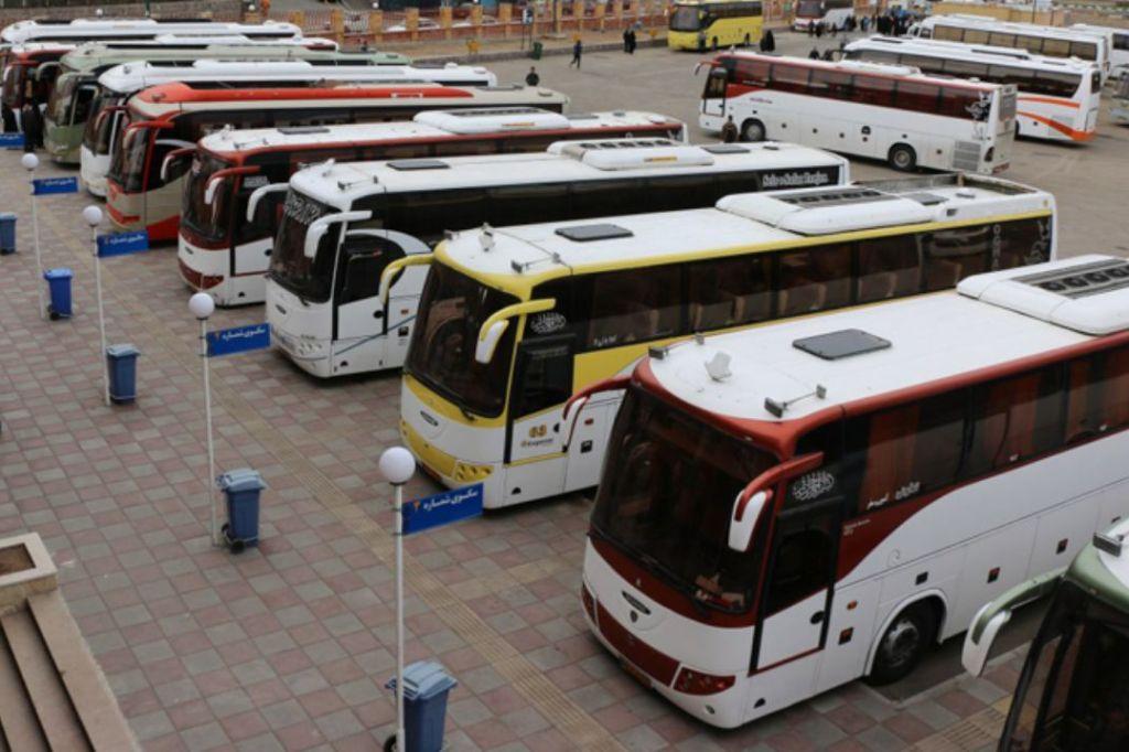 پایانههای مرزی مملو از اتوبوس شد / موج بازگشت زائران از فردا آغاز میشود