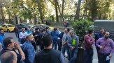 تجمع طلبکاران شهرداری تهران مقابل ساختمان شورای شهر + فیلم