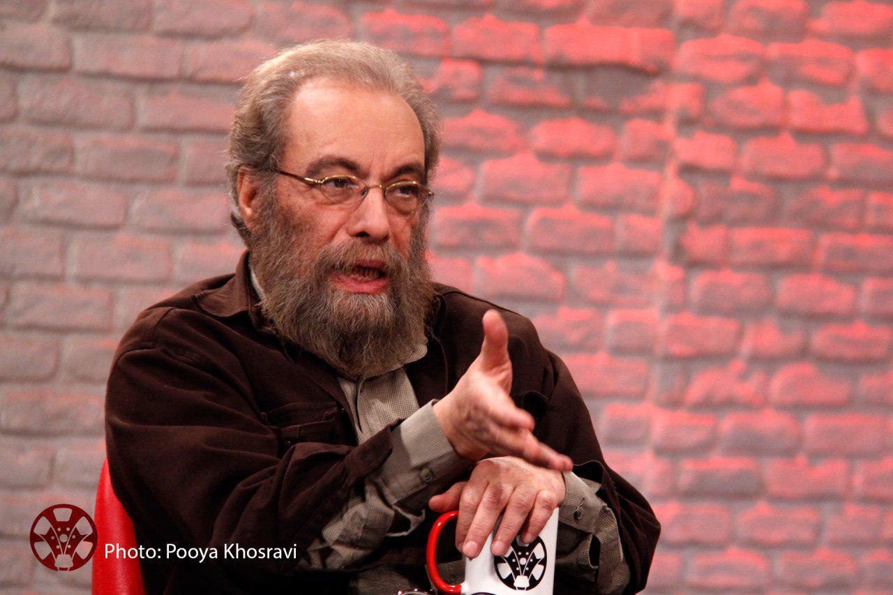 مسعود فراستی در کاروان پیادهروی اربعین + تصویر