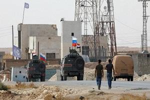 استقرار نیروهای روسیه در شمال شرق سوریه