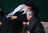 باشگاه خبرنگاران - تصویری جدید از سردار سلیمانی در محضر رهبر انقلاب