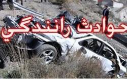 واژگونی خودرو در آزاد راه همدان- ساوه جان  یک  کودک 8 ساله را گرفت