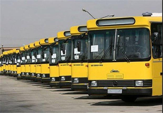 خدمات رسانی اتوبوسرانی در پیاده روی جاماندگان اربعین