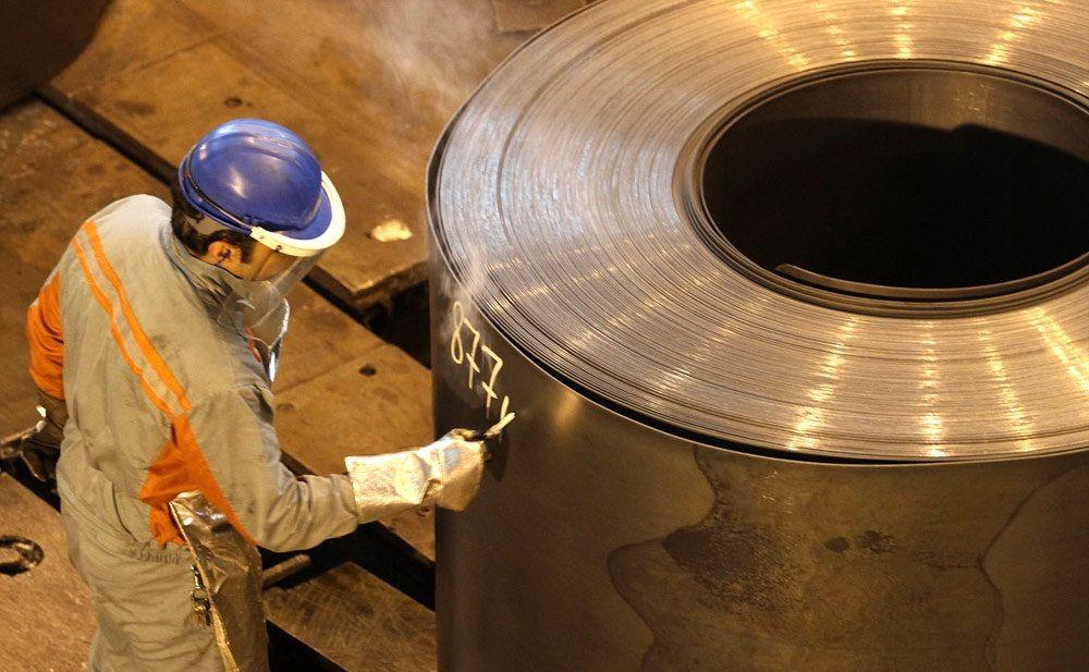 ثبت ۶۰ درصدی صادرات انواع محصولات فولادی