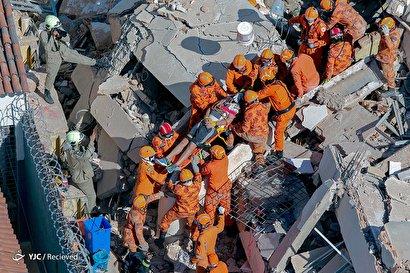 ریزش ساختمان ۷ طبقه در برزیل