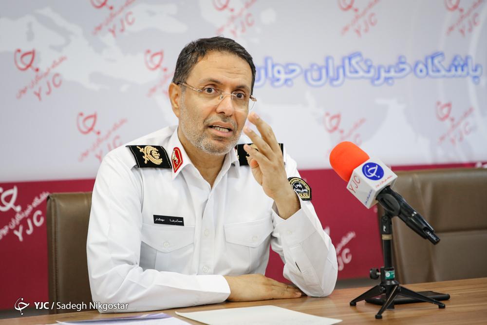 ۴۰ درصد از فوتیهای تصادفات پایتخت موتورسواران هستند/ اجرای طرح ساماندهی موتورسواران در تهران