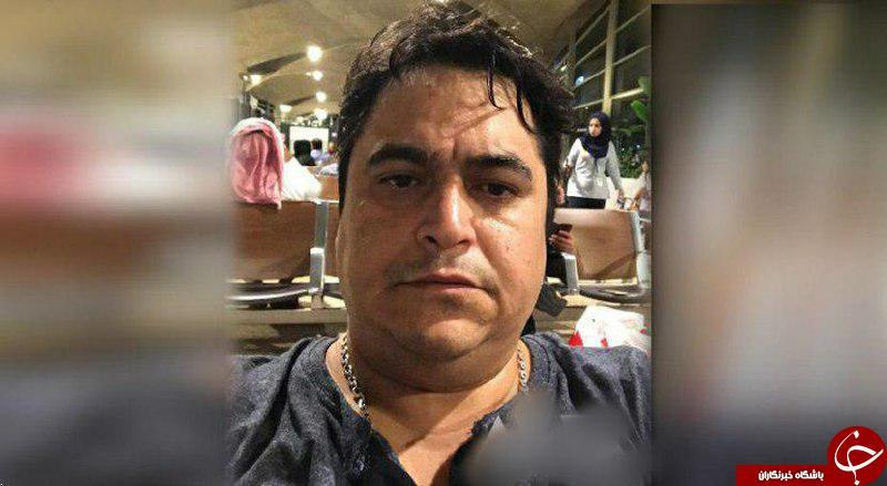 آخرین تصویر از روح الله زم قبل از بازداشت