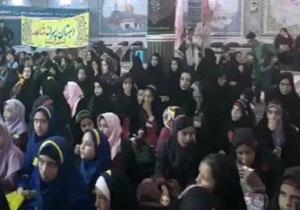 همایش سوگواری سالار شهیدان در شهرضا + فیلم