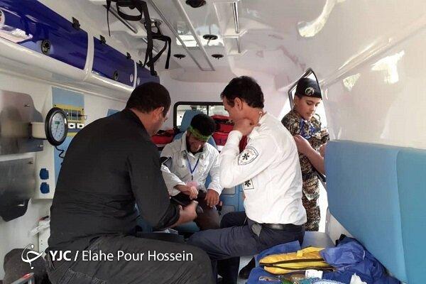 9 بیمارستان سیار با تمام امکانات آماده امدادرسانی به زائران اربعین