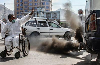 اولین برنامه کنترل موتورهای دودزا در پایتخت افغانستان + فیلم