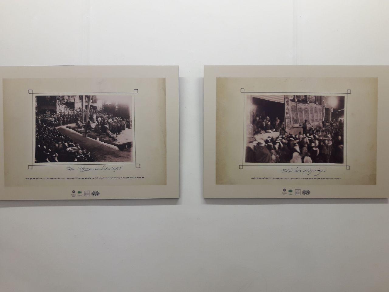 عزاداریهای دوره قاجار را در باغ موزه هنرهای ایرانی مرور کنید + تضاویر