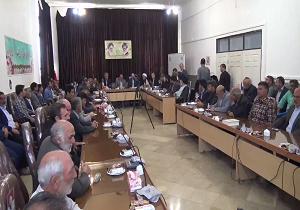 برگزاری جلسه تسهیل گران جهادکشاورزی و منابع طبیعی