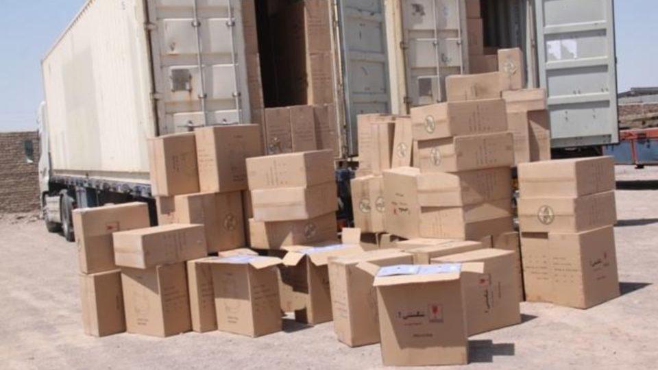 توقیف محموله ۱۴ میلیاردی کالای قاچاق در شازند