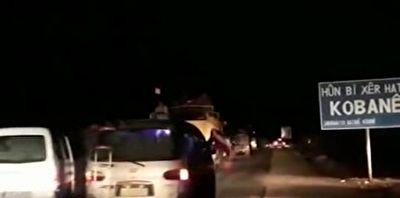 فیلمی از ورود ارتش سوریه به کوبانی