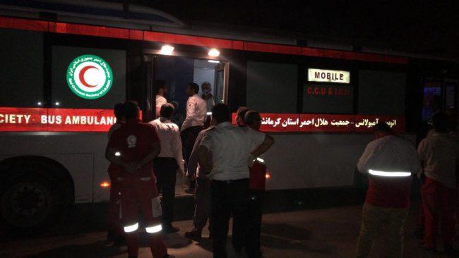 ۹ مصدوم ایرانی از عراق به مرز مهران منتقل شدند+ اسامی مصدومان