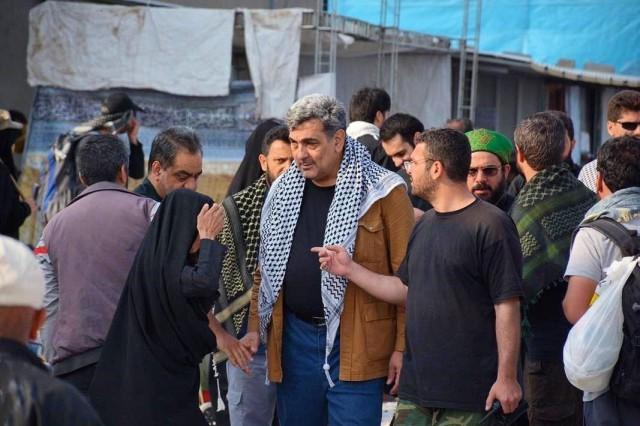 بازدید حناچی از محل اسکان کارگران خدمات شهری در نجف اشرف+ عکس