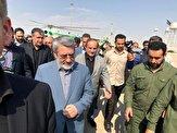 باشگاه خبرنگاران - بازدید وزیران کشور و راه و شهرسازی از مهران