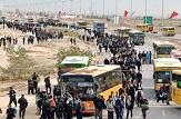 باشگاه خبرنگاران -سرویس دهی ۸۶ دستگاه اتوبوس برای جابجایی زائران اربعین