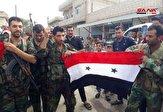 باشگاه خبرنگاران - پرچم سوریه در شهر عینالعرب به اهتزاز درآمد