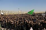 باشگاه خبرنگاران -اجتماع بزرگ عزاداراناربعین حسینی در میدان امام علی (ع) اصفهان