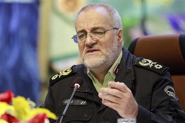 نیروی انتظامی تا ورود آخرین زائر به کشور در مرزها میماند