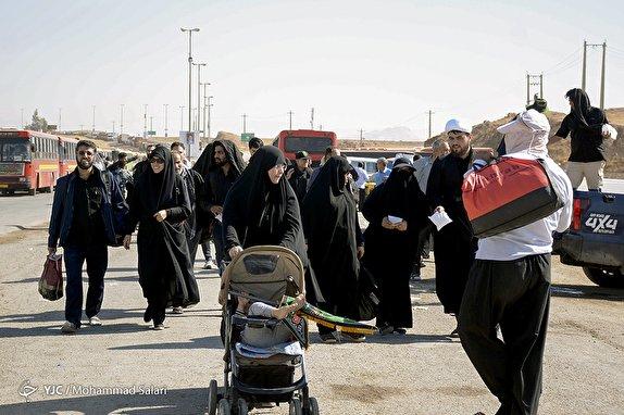 کرایههای سر به فلک کشیده در مرزهای عراق/ 90 درصد از ناوگان اتوبوسرانی به مرزها اعزام شدند