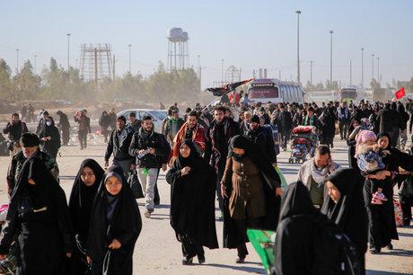 تردد ۱۹۴ هزار زائر از مرز مهران